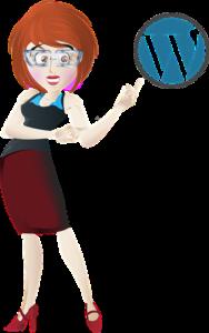 Wordpress Woman